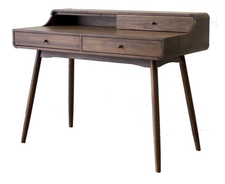 Corrigan Studio Chism Modern Wood Desk & Reviews   Wayfair