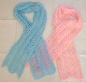 Je cherchais à tricoter une écharpe qui ne demande pas trois tonnes de pelotes. Bon, trois tonnes, j'exagère ! Et j'ai trouvé sur un blog (zut, je ne sais plus où !!!! mais on m'a aidé à trouver, c'est sur le blog d' Anne-Isis ) ce modèle d'écharpe vague,...