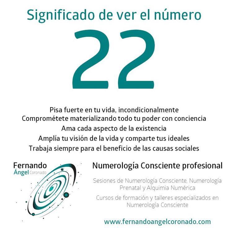 significado de ver el numero 22
