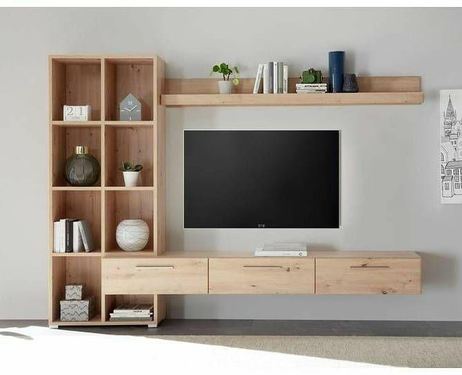 Tv Unit Decor, Tv Wall Decor, Wall Decorations, Home Living Room, Living Room Decor, Tv Wanddekor, Living Room Tv Unit Designs, Tv Wall Design, Set Design