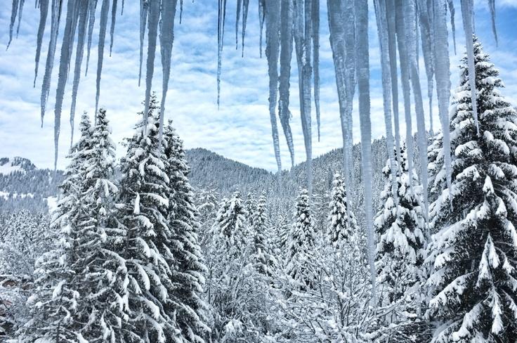 Villars Mountains #villars #snow