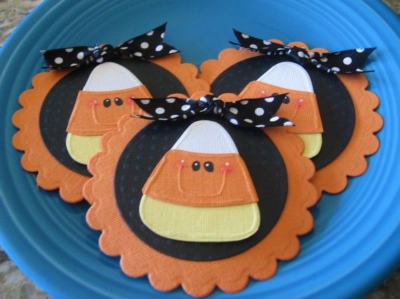 candy corn tags