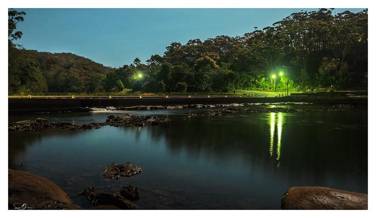 Night River Crossing III by mdomaradzki.deviantart.com on @deviantART