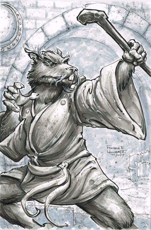 Teenage Mutant Ninja Turtles - Splinter by Freddie E. Williams II