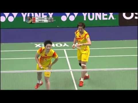 2012 Yonex-Sunrise Hong Kong Open - Finals WOMEN'S DOUBLE Players: Tian Qing / Zhao Yunlei (CHN) vs Wang Xiaoli / Yu Yang (CHN)