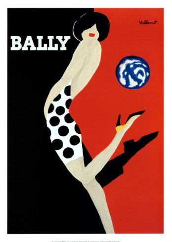 Bally Print by Bernard Villemot from AllPosters.com