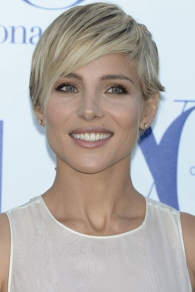 Elsa Pataky – sexy short blonde hair The long layers in the front make this hair…
