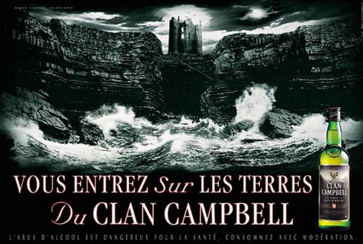 Clan Campbell - Vous entrez sur les terres du Clan Campbell