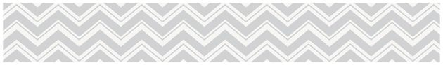 Sweet Jojo Designs Gray and Turquoise Zig Zag Collection Wall Paper Border