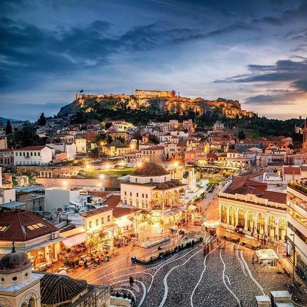 sweet #Athens image source: #EarthBeauties