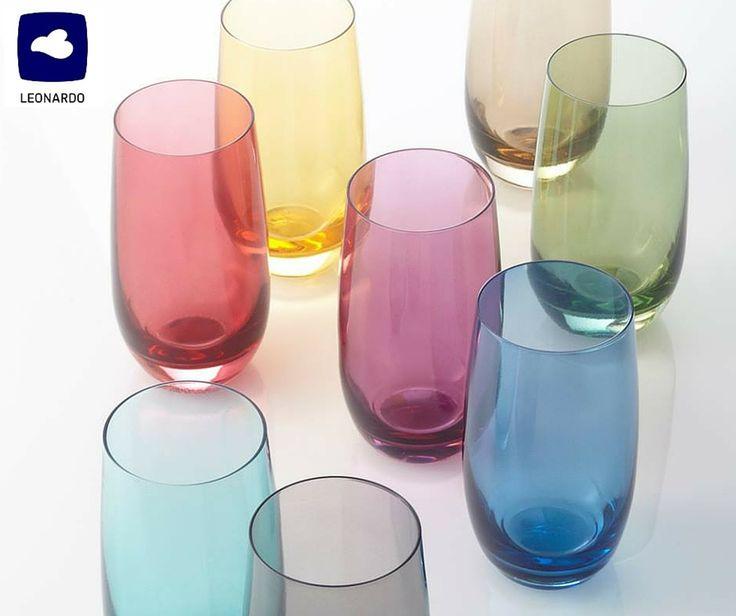Αν απ' την καθημερινότητα σάς λείπει το χρώμα, αναζητήστε τα ποτήρια αναψυκτικού/νερού Sora της Leonardo. Το σετ των 6 έχει -30% έκπτωση όλο τον Φεβρουάριο. Περισσότερα εδώ http://www.parousiasi.gr/?product=leonardo-σετ-6-τεμ-ποτηρια-αν-018047l