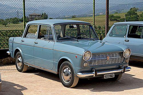 FIAT 1100 R - My dad first car.