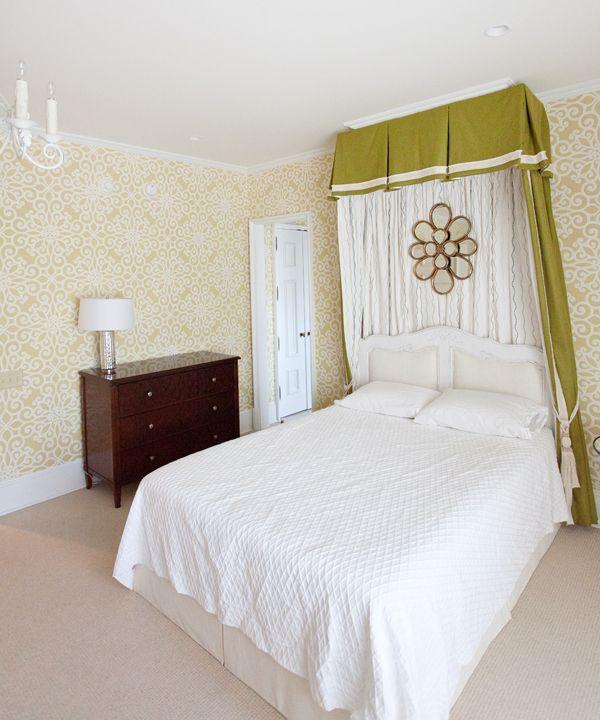 1000+ Ideas About Girls Bedroom Wallpaper On Pinterest