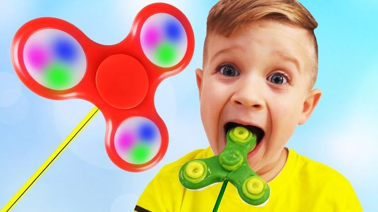 Bad kids eating Fidget Spinner Candy! Johny Johny Yes Papa Song Nursery Rhymes Fun for Children    {{AutoHashTags}}