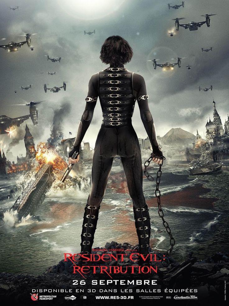 "Resident Evil 5: Venganza - Resident Evil: Retribution (2012) | Mediocre tour mundial de ""Resident Evil""..."