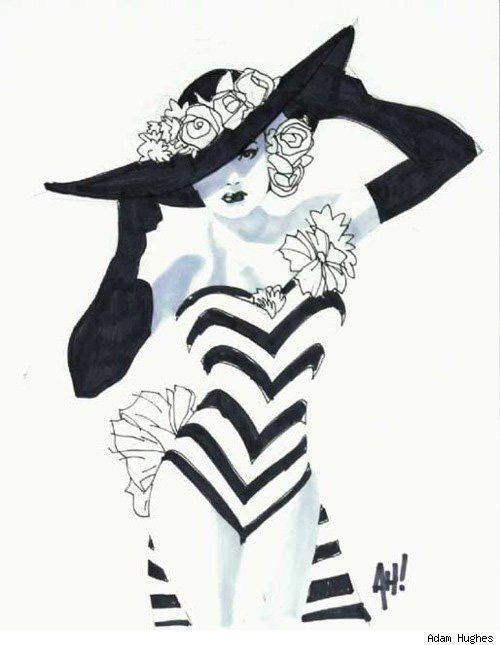 An artist's interpretation of Mae West #art