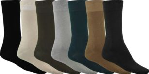 Experience the real quality of fine shoes with our Bamboo Dress Socks. 64% Bamboo, 28% Tencel and 8% Elastane give the socks just the right kind of thinness to protect your feet without missing out on the feel of your shoes, the perfect texture to match any suit or formal wear and the needed elasticity to keep the socks from slipping down the leg. #bamboo #socks
