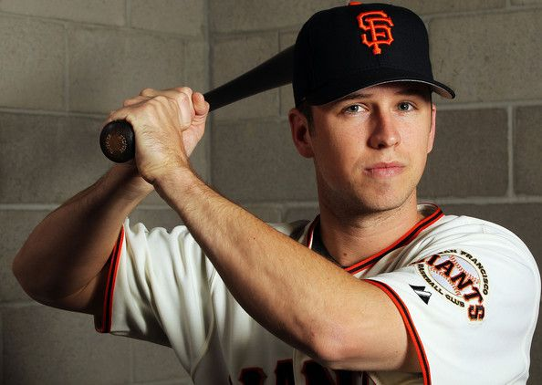Buster Posey | Buster Posey Buster Posey #28 of the San Francisco Giants poses during ...