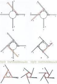 Картинки по запросу схемы спирального плетения деталей из бумажных трубочек