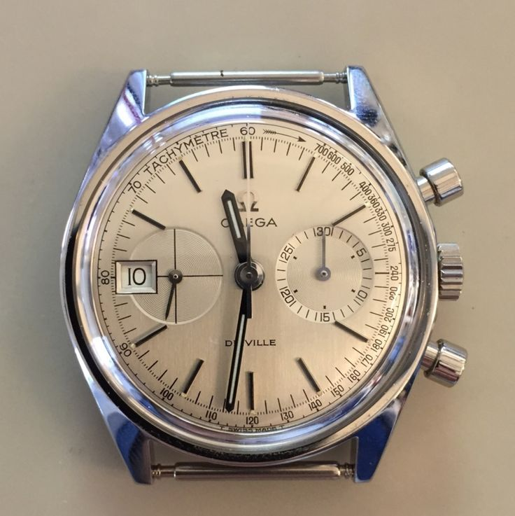 Uncommon Vintage OMEGA DeVille Calibre 930 Chronograph In Stainless Steel Circa 1960s - http://omegaforums.net