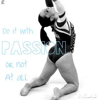 This is for Gymnastics, which I used to do and I still love it, but it works for dancers too