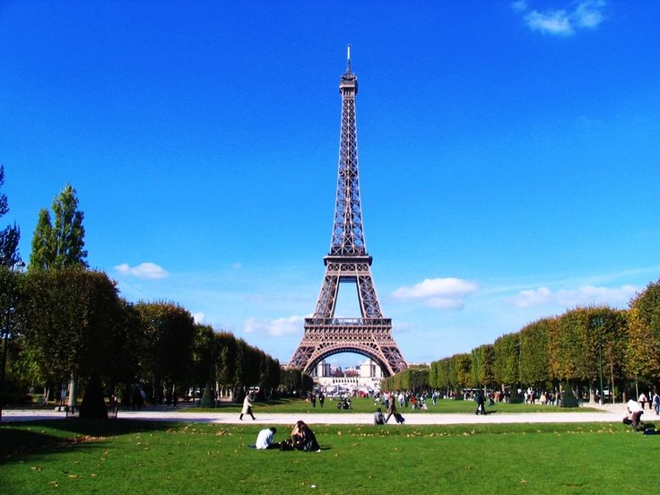 The Eiffel Tower today.
