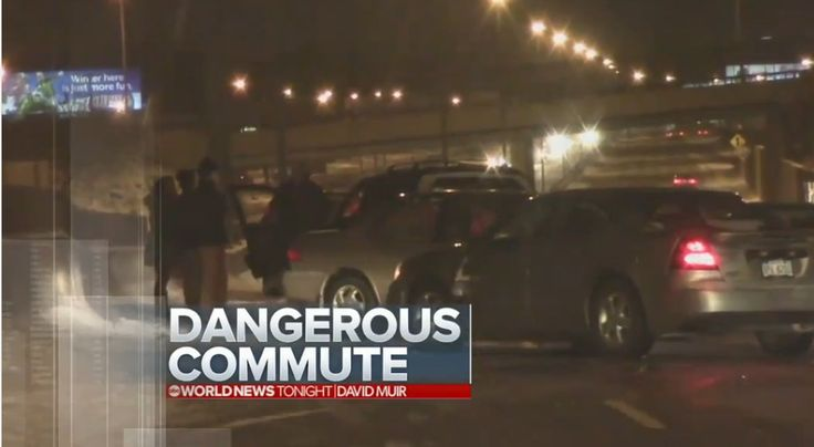 US 131 Crash - ABC World News Tonight - 1/18/16