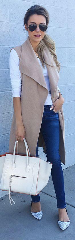 Long Vest / Fashion By Hello Fashion