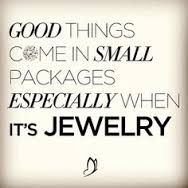 Good things come in small packages especially when it's jewelry!  LONDON MANORI