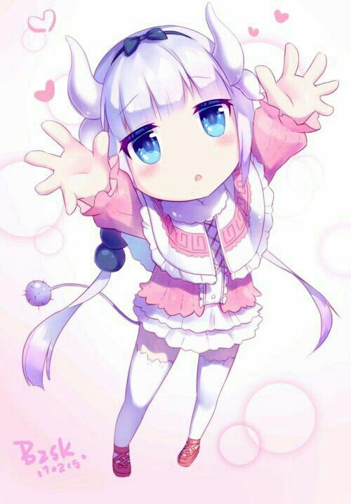 Anime, Art, Аниме, Kanna Kamui Kobayashi san Chi no Maid Dragon