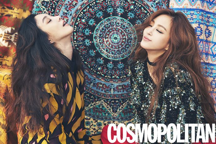 Best Pals Jung Ryeo Won & Han Ye Seul Cover The 15th Anniversary Issue Of Cosmo Korea
