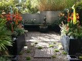 Modern Tropical Courtyard - tropical - landscape - vancouver - by Glenna Partridge Garden Design