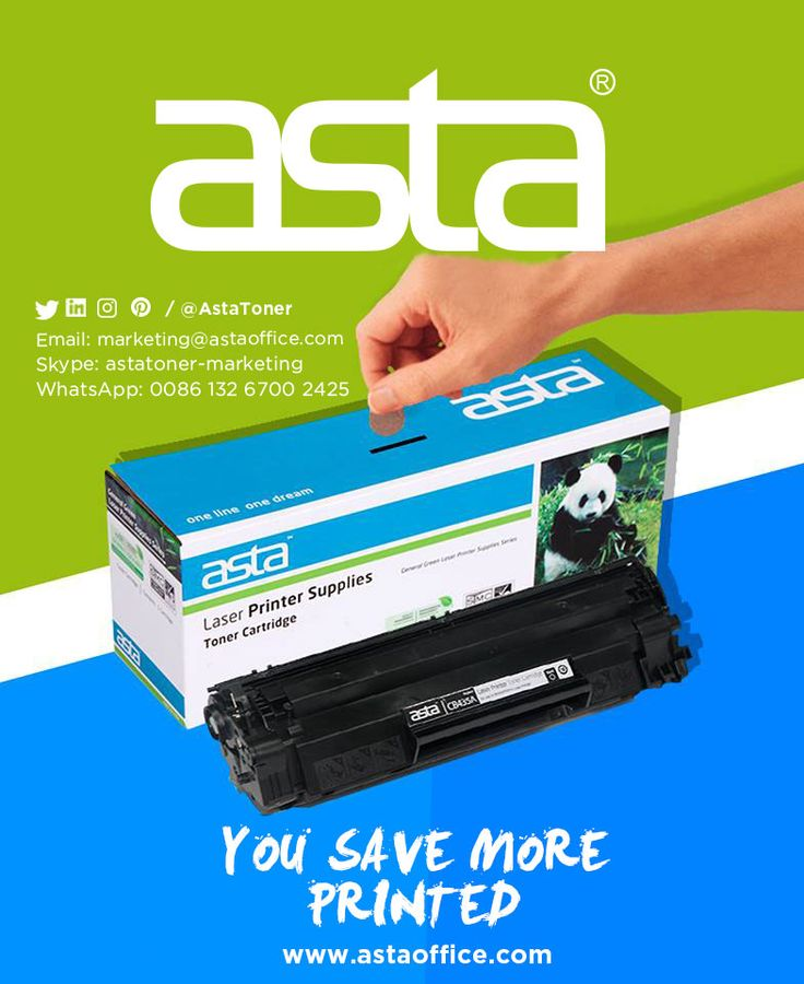 You save more printed #tonercartridges,#compatibletonercartridges,#toner,#printer,#printing,#hp,#canon,#oki,#brother,#xerox,#epson,#lenovo,#richon,#dell,#sharp,#lexmark,#panasonic,#toshiba, Email: marketing@astaoffice.com What's app:+ 86 13417029043 Skype: astatoner-marketing Website: www.astaoffice.com
