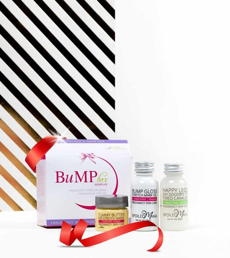 Maternity Gift Basket - Best Of Bump Box Sampler Pregnancy Gift Set