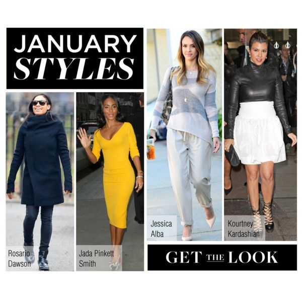 """""""Get the Look: What the Stars Are Wearing This Month"""" by polyvore-editorial ❤ liked on Polyvore"""