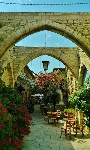 Walk by old city streets.. Limassol, Cyprus