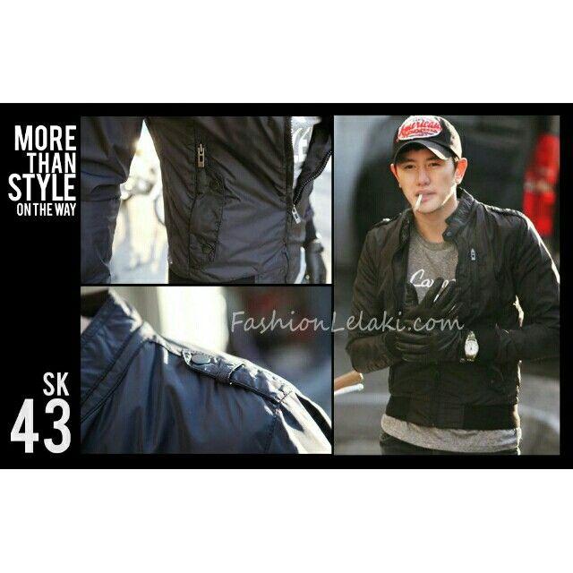 Temukan dan dapatkan Jaket parasut Korea Style SK 43 hanya Rp 280.000 di Shopee sekarang juga! http://shopee.co.id/jaketcostume/7670756 #ShopeeID