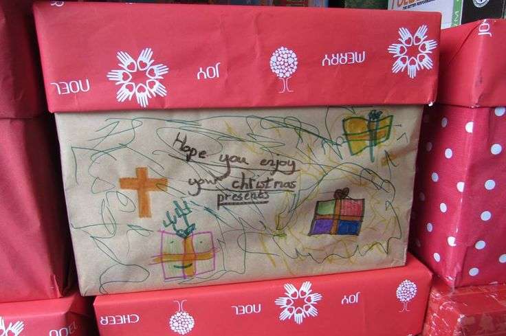 Christmas Lovebox Drive 2014 at CAST and Westville Baptist Church