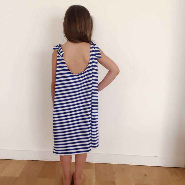 Robe Maellita Bleu  http://www.aureliemalau.com/