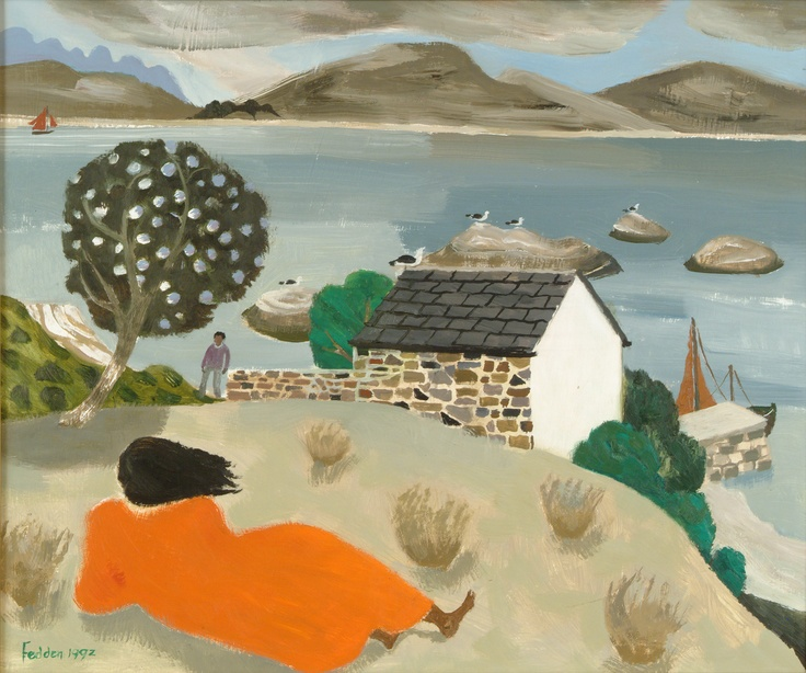 Over to Skye by Mary Fedden OBE RA (1915 - 2012)