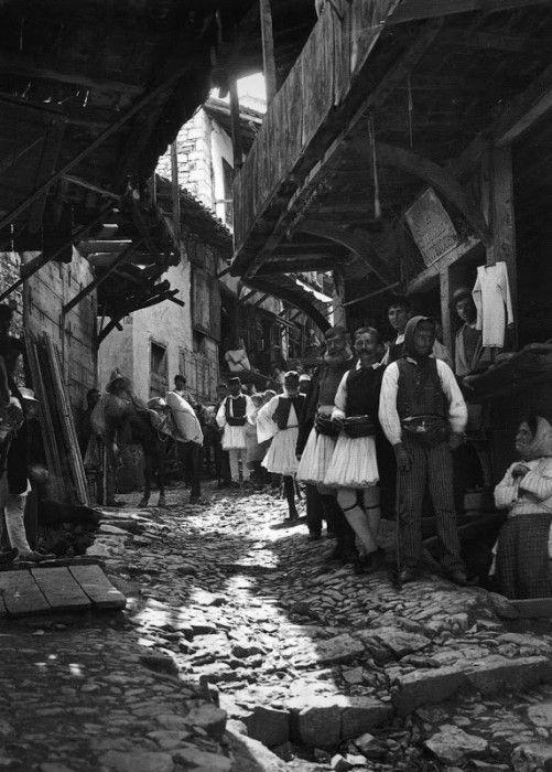 Ανδρίτσαινα, αγορά, 1903
