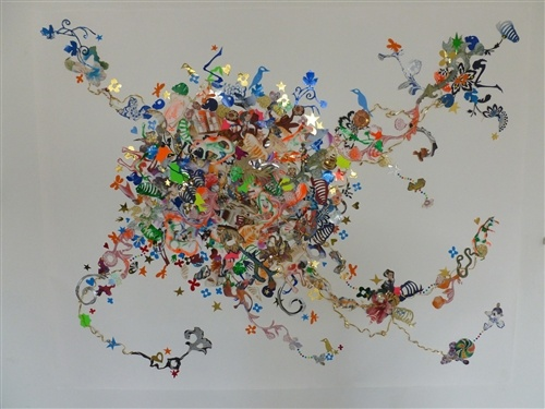 Adam King, Choreographed Chaos Landscape, 2012