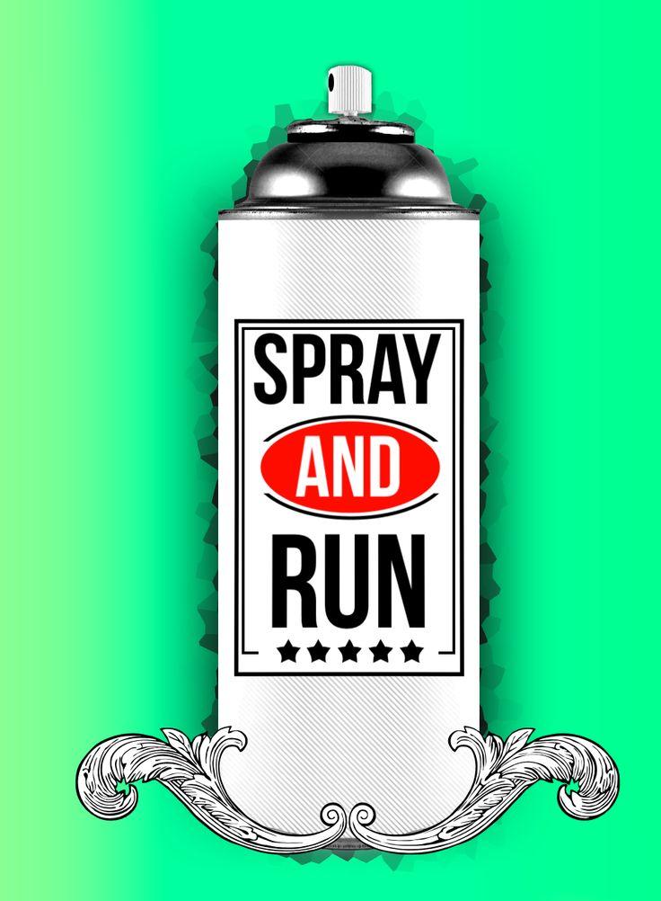 SPRAY AND RUN