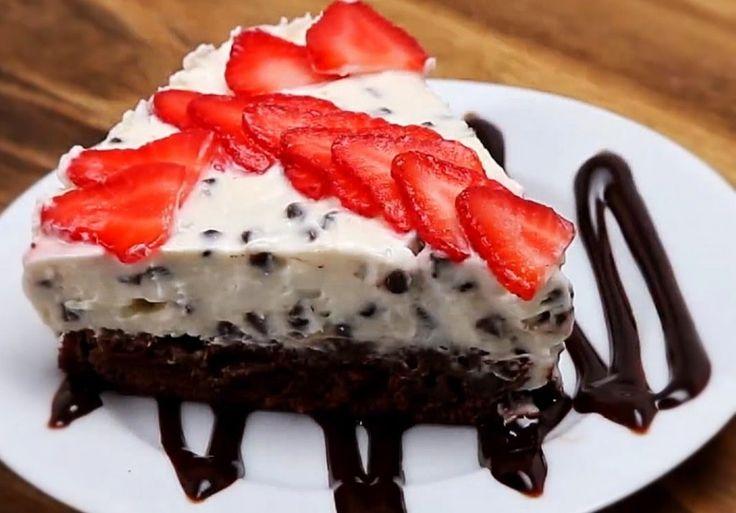Chocolate Chip Brownie Cheesecake Ladies Corner