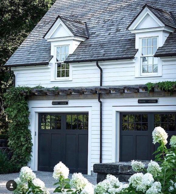Eyebrow trellis | House exterior, Modern farmhouse ...