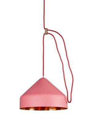 Llus lamp roze/koper #light
