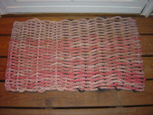How To Make A Doormat Out Of Recycled Rope Rope Rug
