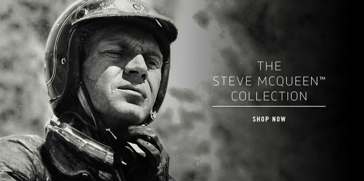 Celebrate the King of Cool's Birthday with gear from our Steve McQueen Collection at shop.triumphmotorcycles.com (Canada: shop.triumph-motorcycles.ca)