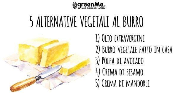 Burro: 5 alternative vegetali al di là della margarina