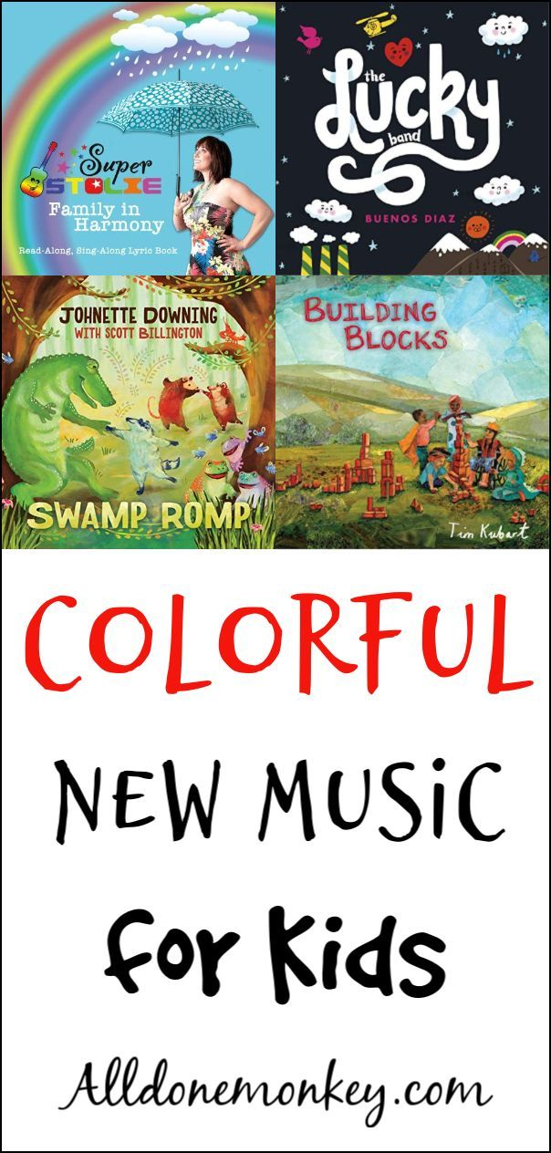 Colorful New Music For Kids That Everyone Will Enjoy All Done Monkey Music For Kids Parent Resources Children S Music